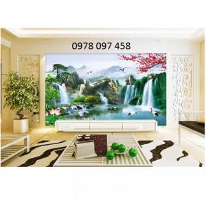 Tranh phòng khách - tranh phong cảnh