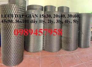 Lưới mắt cáo, lưới hình thoi 10x20, 20x40, 30x60, 45x90