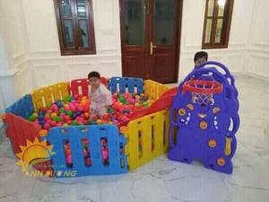 Chuyên nhà banh trong nhà dành cho trẻ nhỏ mẫu giáo, mầm non