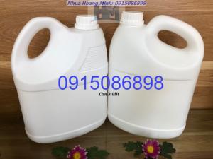 Công ty sản xuất CHAI NHỰA, CAN NHỰA đựng nước giặt xả, nước lau sàn...