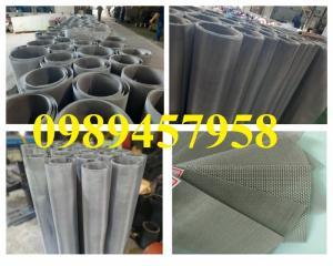 Lưới inox đan dây 1ly, 2ly ô 5x5, 10x10, 20x20 khổ 1m, 1,2m, 1,5m