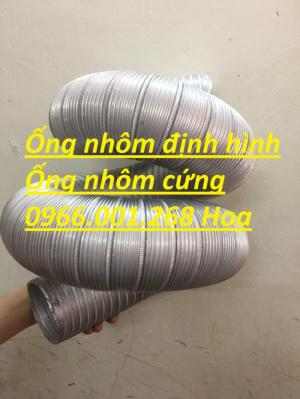 Ống nhôm chịu nhiệt cao, ống nhôm nhún, ống nhôm cứng phi 300,phi 200,phi 100