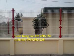 Lưới thép hàng rào phi 5 a 50x150, hàng mạ kẽm sơn tĩnh điện- Nhật Minh Hiếu