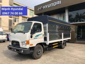 Xe tải 7 tấn - Thùng 5m - Hyundai 110SP - KM 100% LPTB