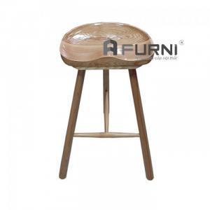 Ghế quầy bar 3 chân gỗ hiện đại cao cấp hcm