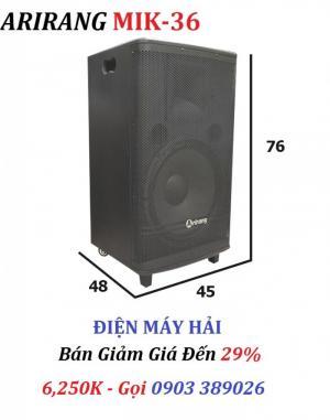 Loa kéo Arirang MIK-36 có 12,200 bài Karaoke tích hợp trong