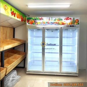 2020-08-07 15:37:25  1  Tủ mát bảo quản hoa quả, trái cây nhập khẩu 33,000,000
