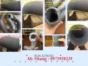 2020-08-07 16:10:28  4 ống gió mềm vải hàn quốc Lh:0973958329 Cung cấp ống nhựa pvc định hình cố định phi 100, 125,150,200 ( 2.8 - 5 met) 400,000