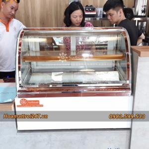 2020-08-07 16:08:32  2  Tủ trưng bay bánh kem mini kính cong 16,500,000