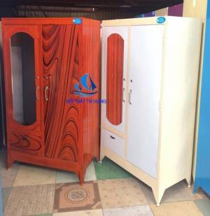 2020-08-07 17:05:21  3  Tủ sắt sơn dầu 1m6 tủ đựng quần áo giá rẻ 699,000