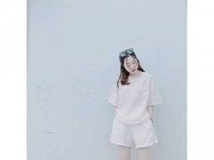 Set nữ trắng áo cổ tròn mix quần short