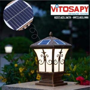 Đèn trụ cổng năng lượng mặt trời - Tuyển đại lý phân phối