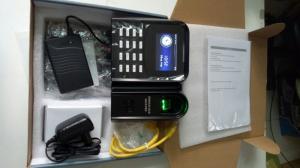 Lắp đặt máy chấm công vân tay + thẻ cảm ứng RONALD JACK X628 PRO