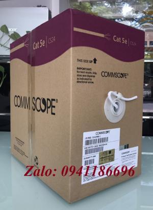 Cáp mạng COMMSCOPE Cat5E UTP mã 6-219590-2 sẵn số lượng