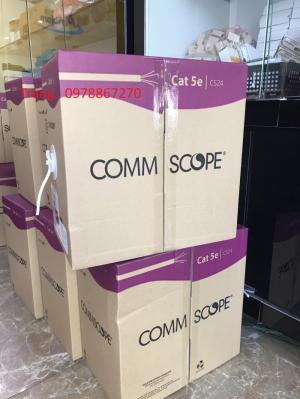 Cáp mạng Commscope/AMP Cat 5E Mã 6-219590-2 chuyên chạy dự án