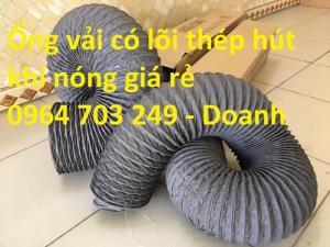 Ống gió mềm vải Hàn Quôc giá tốt nhất