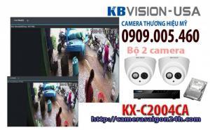 Bộ 2 camera quan sát có ghi âm KX-C2004CA