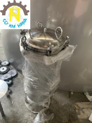 Bình lọc inox 7 lõi 40inch lọc nước, nước mắm, nước