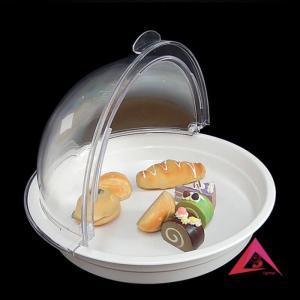 Nắp nhựa tròn đậy khay đựng thực phẩm