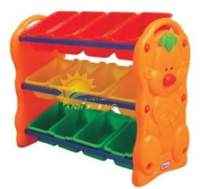 Kệ nhựa đựng đồ dành cho các bé siêu đáng yêu - giá siêu rẻ -BH 1 năm