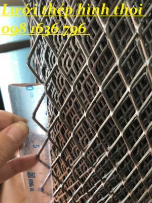 Lưới dập giãn, lưới hình thoi, lưới mắt cáo mắt 30*60mm