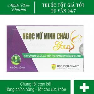Viên uống Ngọc Nữ Minh Châu Gold Học viện quân y