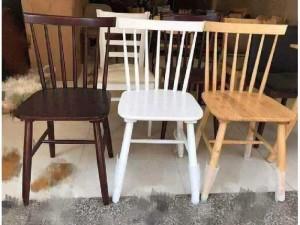 Ghế gỗ cafe 7 nan giá rê
