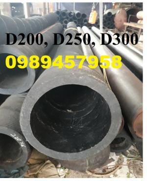 Ống lõi thép phun cát D200, hút bê tông D220, hút cát D250, xả cát D300, D350