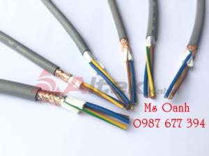 Cáp điều khiển 5c x 0.5 sqmm - Cáp điều khiển 5 lõi tiết diện 0.5mm2
