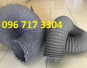 Ống gió mềm vải  Hàn Quốc dùng thông gió thông khí