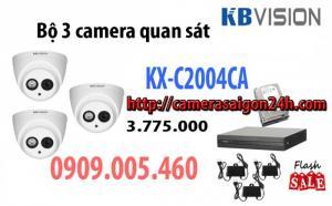 Gói 3 Camera hồng ngoại 50 mét