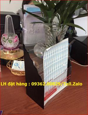 Menu để bàn A4 3 tầng giá rẻ tại Hà Nội