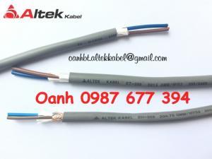 Cáp tín hiệu chống nhiễu 2 core x 1.5mm2