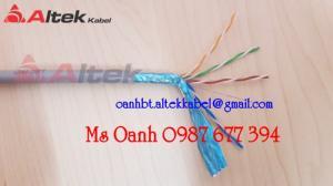 Cáp mạng Cat5e - Cáp mạng Cat6 - Cáp mạng hiệu Altek kabel