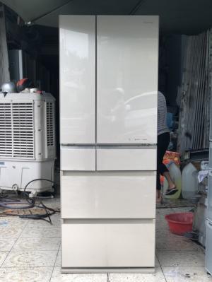 Tủ lạnh PANASONIC NR-F518XG 505L Date 2014, HÀNG LIKE NEW, Có Nanoe, Econavi