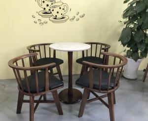 Ghế gỗ xoay cafe giá rẻ