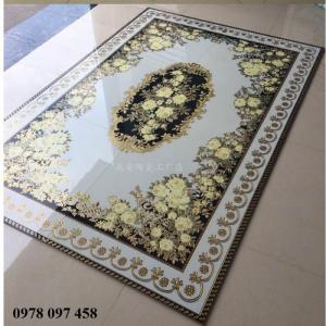 Gạch thảm nổi bật phòng khách