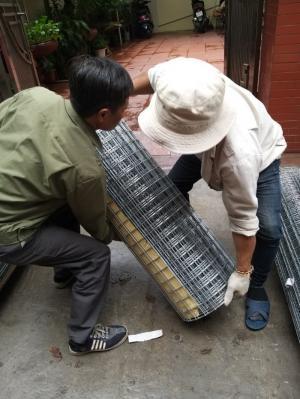 Bán lưới thép hàn mạ kẽm D3 a 50x50 khổ 1m, khổ 1,2m, khổ 1,5m