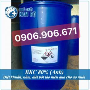 Bkc 80% diệt khuẩn nấm cắt tảo cho ao nuôi tôm cá