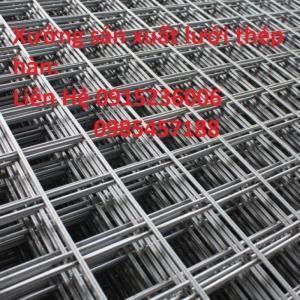 Nơi sản xuất lưới thép hàn D6, D8 Đổ sàn, Đổ bê tông