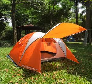 Lều cắm trại 2 phòng chống mưa tốt Gazelle Outdoor GL1313