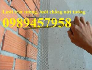 Lưới trát tường, lưới chống nứt tường giá rẻ nhất Hà Nội