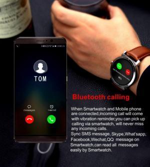 Đồng Hồ Thông Minh K88H PLUS Bluetooth Smartwatch