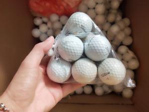 Xả kho combo 10 bóng golf titleist pro