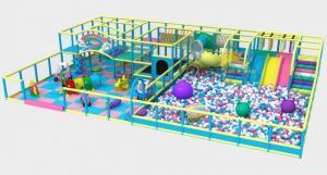 Chuyên nhận thiết kế, thi công khu vui chơi liên hoàn trong nhà trẻ em
