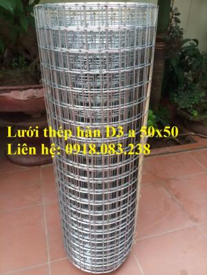 Sản xuất lưới thép hàn D3 a 50x50 dạng cuộn khổ 1m, 1.2m, 1.5m