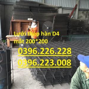 Lưới thép hàn D3,D4,D5 mắt 100*100, 150*150 , 200*200