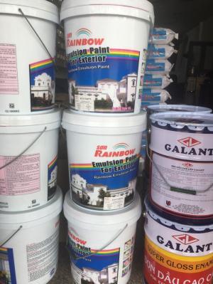 Sơn dầu Galant màu trắng bóng đặc biệt giá rẻ