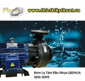 Máy Bơm Ly Tâm Đầu Nhựa QEEHUA QHG-750102