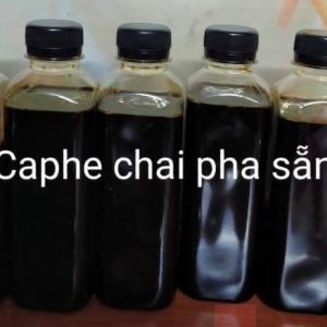 Coffe phin pha sẵn nguyên chất chai 280ml